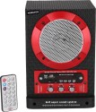 Bexton Thunder Wired Home Audio Speaker (Grey, Red, 1 Channel)