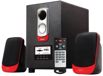 Intex IT 170 SUF Bluetooth Wired Home Audio Speaker Black, 2.1 Channel available at Flipkart for Rs.2080