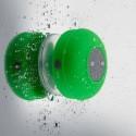 Affix TG-WRBS01-Green Water Resistant Bluetooth Shower Wireless Mobile/Tablet Speaker (Green, 1 Channel)