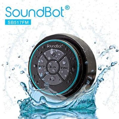 SoundBot-Sb517Fm-Fm-Radio-Bluetooth-Wireless-Speaker-Handsfree-Portable-Speakerphone-Waterproof-Wireless-Mobile/Tablet-Speaker