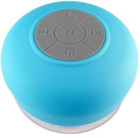 KoldFire KoldFire Bluetooth,Shower Waterproof Wireless Portable Speaker Black (BTS-06) Wireless Mobile/Tablet Speaker (Blue, 2.1 Channel)