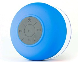 Ultra Bass Shower 001 Portable Bluetooth Mobile/Tablet Speaker (Blue, 2.1 Channel)