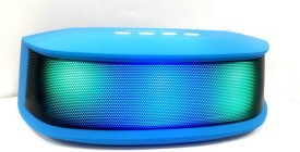 MDI A-68 Bluetooth Stereo Wireless Mobile/Tablet Speaker (Blue, 2.1 Channel)
