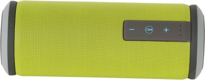 buy popular ac47e bc1f6 Zakk Miami X6 Water Resistant Powerful High-Bass Bluetooth Green Portable  Bluetooth Mobile/Tablet Speaker (Green, 1 Channel)