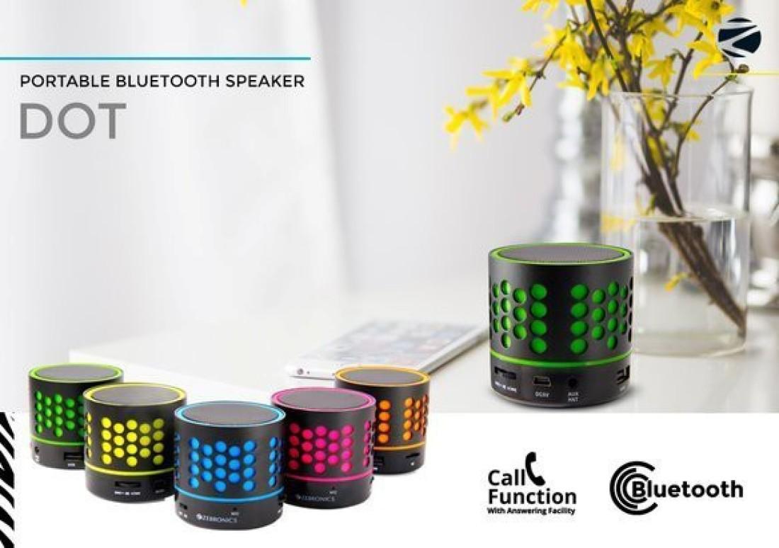 Zebronics Dot Bluetooth Speaker