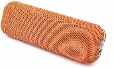 Robotek Pie Orange Portable Bluetooth Mobile/Tablet Speaker (Orange, 2.1 Channel)