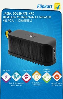 Jabra Solemate NFC Wireless Portable Speaker