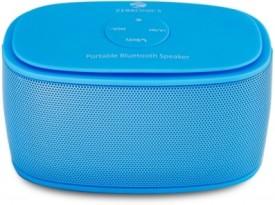 Zebronics Bluetooth Portable Speaker Wireless Mobile/Tablet Speaker (Blue, 1.0 Channel)