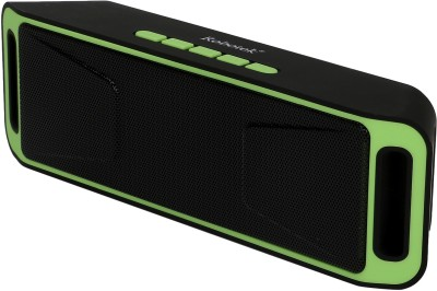 Robotek RB-03 Portable Bluetooth Mobile/Tablet Speaker (Green, 2.1 Channel)
