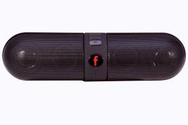 Zakk Bluetooth Beatz Pill F Wireless Mobile/Tablet Speaker (Black, Single Unit Channel)