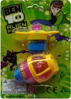 Darling Toys Ben 10 Lighting Spinning Top (Multicolor)