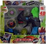 Tabu Spinning & Press n Launch Toys Tabu XTX Battle Top Beyblade