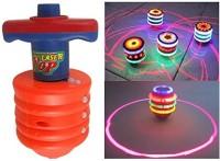 Fantasy India Multicolour Laser Top Musical Toys (Multicolor)