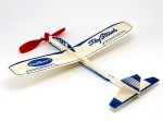 Guillow's Spinning & Press n Launch Toys Guillow's Rubber Powered Balsa Sky Streak Glider
