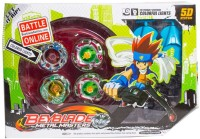 Zest4toyZ Multi 5D Metal Masters Beyblade With LED Lights And Stadium (Multicolor)