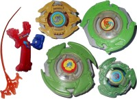 Smart Picks Super Spin Gear Top Lighting Bladers (Multicolor)