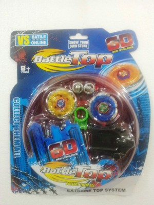 Little Angels Spinning & Press n Launch Toys Little Angels Battle Top