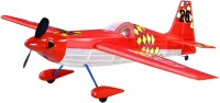 Guillow's Edge 540 Contest Balsawood Scale Model With 3 Mode Power Flying (Multicolor)