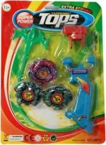 Dinoimpex Spinning & Press n Launch Toys Dinoimpex Dino Beyblade Set Perfect Gift