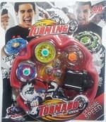 Little Angels Spinning & Press n Launch Toys Little Angels Beyblade Tornado