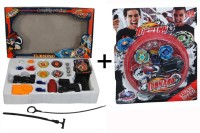 ShopStar BeyBlade Complete Game With Launcher Combo With Tornado Metal BeyBlade With Stadium. (Multicolor)