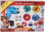 Tabu Spinning & Press n Launch Toys Tabu ShoGun Steel