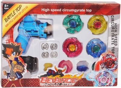 Tabu Spinning & Press n Launch Toys Tabu ShoGun Steel