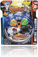 Madink Beyblade Tornado Pack Of 2 With Stadium (Multicolor)