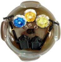 Krypton Fight Top Metal Fighters With LED Light Beyblade (Multicolor)