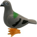 Imperial Spinning & Press n Launch Toys Imperial Walking Pigeon