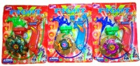 New Pinch Beyblade 5D 1 With Sharp Metal Edge (pack Of 3 ) (Multicolor)