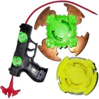 Toyzee Beyblade Metal Top Blader With Gun Launcher (Multicolor)