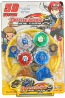 New Pinch 5 D System Customize Battle Top Bayblade With Stadium (Multicolor)