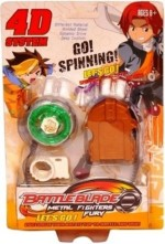 New Pinch Spinning & Press n Launch Toys 4d