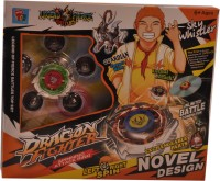 Mera Toy Shop Spinning Attack Rings-Sky Whistler (Multicolor)