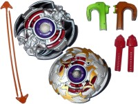 Smart Picks Diecast Metal Top Bladers With Magnetic Finger Holder (Multicolor)