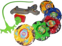 Smart Picks Super Spin Top 5 Bladers (Multicolor)
