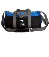 Gene Mn-0282-Blk-Blue Gym Bag (Black, Blue, Kit Bag)