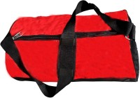 Magical Petals Sports Gym Bag (Red, Black, Kit Bag)