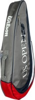 Wilson Us Open Triple Kit Bag (Grey, Kit Bag)