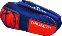 Triumph Pro-402 Navy Red Tennis Kit Bag (Blue, Red, Backpack)