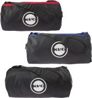 KVG Vibrant Gym Bag VIBRANT GYM BAG TRIO (Black, Red, Blue, Messenger Bag)