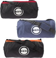 KVG ORANGE GYM BAG COMBO ORANGE GYM BAG COMBO (Red, Black, Orange, Blue, Messenger Bag)