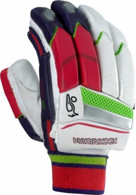 Kookaburra Instinct 800 Batting Gloves (Men, White, Green, Red, Purple)