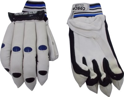 Cosco Club Batting Gloves (L, Blue, Black)
