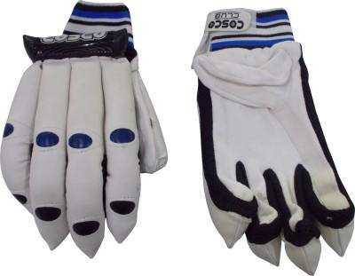 Cosco Club Batting Gloves (L, Blue, Black)