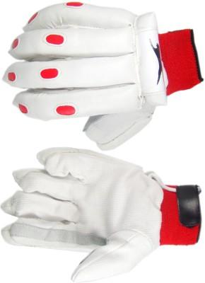 Slazenger Academy Batting Gloves (White)