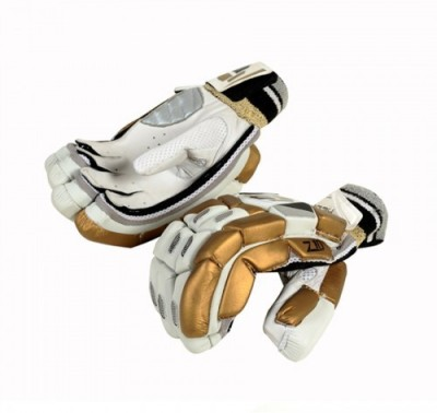 Hebe Z10 Batting Gloves (Men, Gold, White)
