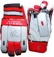Adarsh Lords Batting Gloves (Free Size, Red)