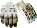 Tygar Tornado 10000 Batting Batting Gloves - M, White, Purple